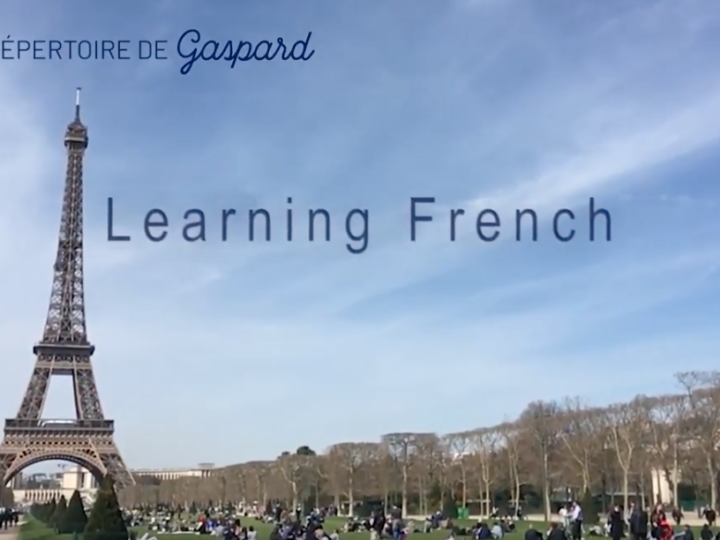 FAQ 3: Learning French with Le Repertoire de Gaspard